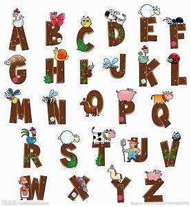 26 26 26 With farm alphabet letters