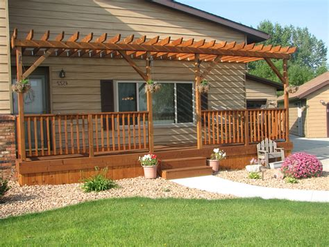 Front Porch Deck Design Ideas