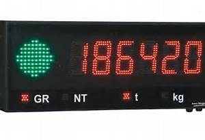 Led Remote Displays For Weighing Scales