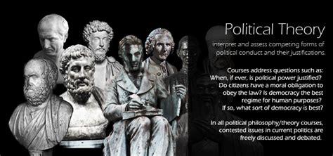political theory department  politics