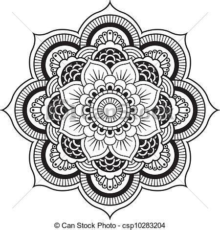 vectors  henna flower mandala vector designs henna
