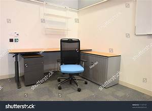 Empty Office New Modern Office Furniture Stock Photo ...