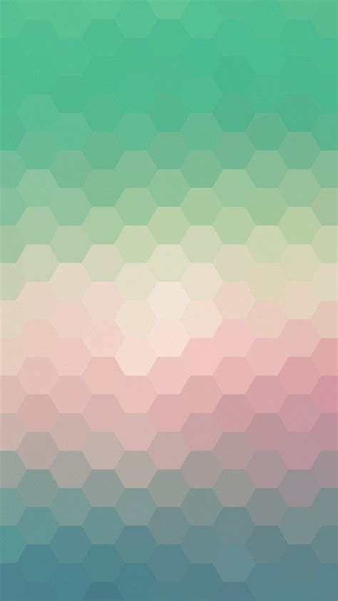 vx hexagon green red pattern background wallpaper