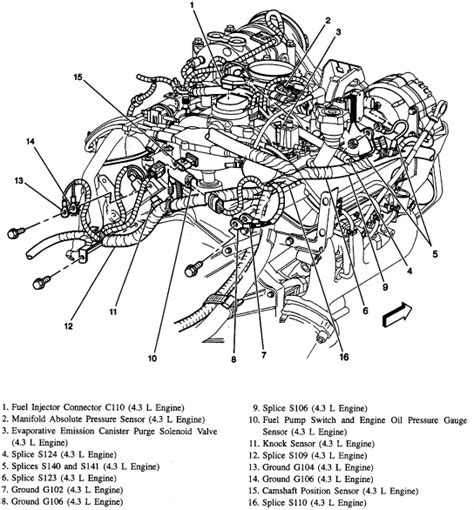 2006 Chevy V6 Engine Vacuum Diagram by I Just Replaced The Intake Gasket And Water On My