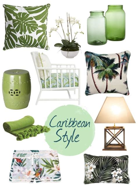 Tropical Bedroom Decor by Caribbean Style Palm Chic Florida Living