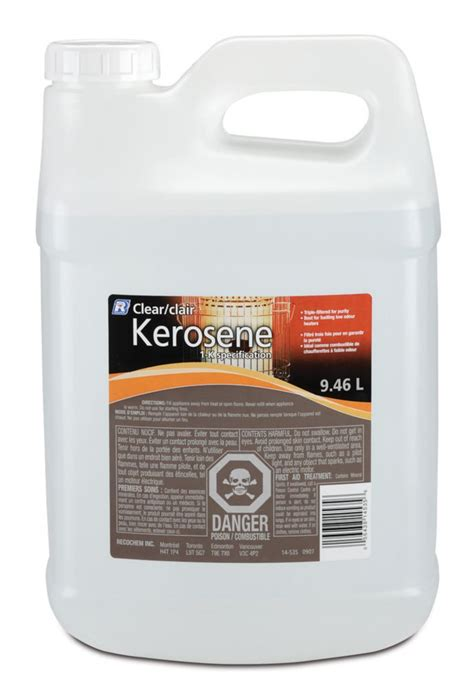 recochem 9 46l clear kerosene the home depot canada