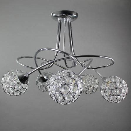sphere five light chrome ceiling fitting dunelm 163 55 99