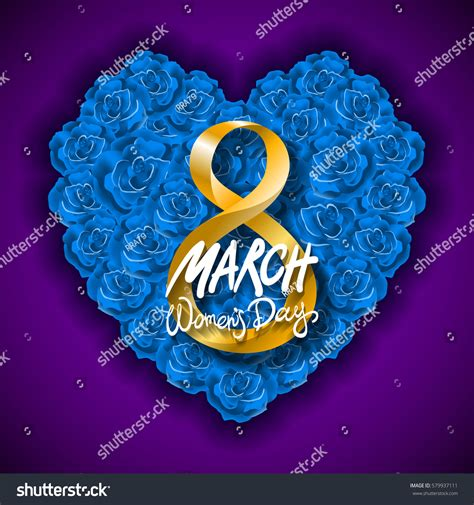vector modern valentines day  march stock vector