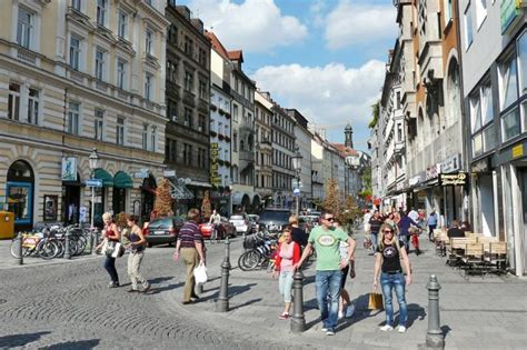 Beliebtheit Der Einkaufsmeilen München