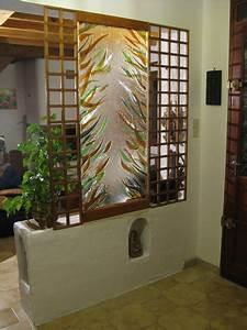 Mur En Bois Intérieur Decoratif : d coration maison separation ~ Teatrodelosmanantiales.com Idées de Décoration