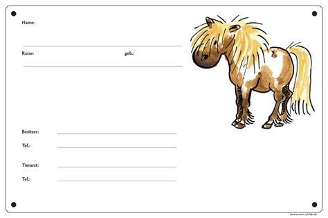 boxenschild motiv pony comic schilder
