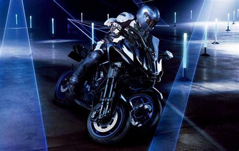 A Sports Three Wheeled Motorcycle