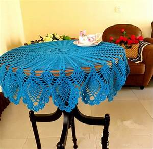 Round Crochet Tablecloth Patterns  U2013 Crochet For Beginners