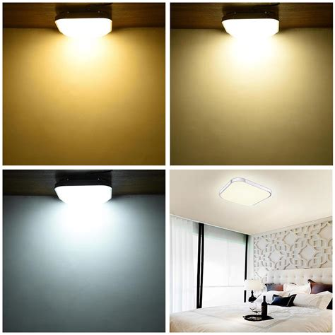 bedroom ceiling lights led ceiling light flush mount fixture l bedroom kitchen 10303 | 11mcl001 sq36w r11x2 08a