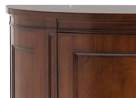 semi circular accent cabinet   kindel furniture