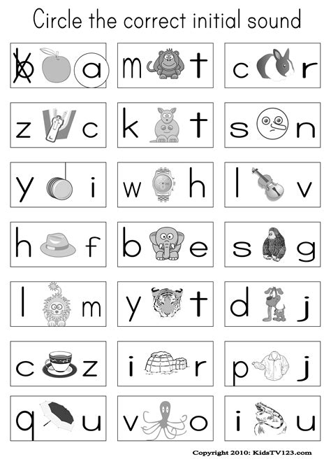 kidstv123 phonics worksheets classroom reading