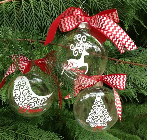 swirly christmas ornaments  ea find
