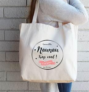 Idee Cadeau Pour Remercier Une Nounou : sac cadeau personnalis pour une nounou trop cool nounou pinterest nounou cadeaux faits ~ Dallasstarsshop.com Idées de Décoration