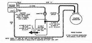 Starter  Generator Voltage Regulator Wiring - Wheel Horse Electrical
