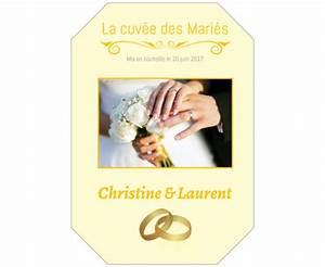 Etiquette Champagne Mariage : tiquette champagne personnalis e mariage autocollants labelpix ~ Teatrodelosmanantiales.com Idées de Décoration