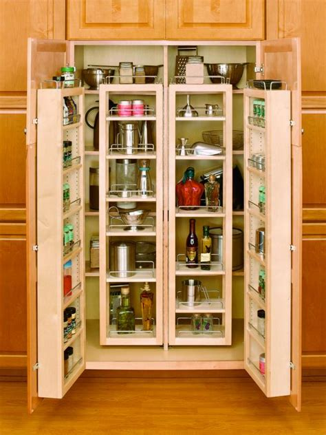 cabinet pull out shelves kitchen pantry storage pantries for an organized kitchen diy 9783