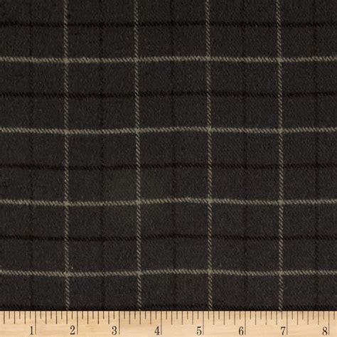 primo flannel smoky window pane plaid grey discount designer fabric fabric com