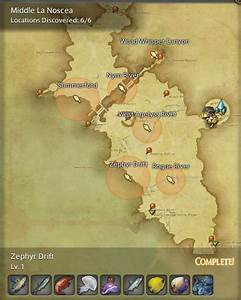 Final Fantasy 14 Fishing Spot Maps Locations GamingReality