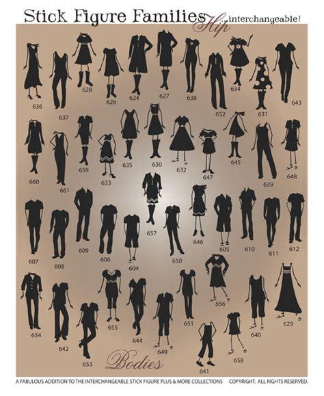 stick figure families vector in graphics