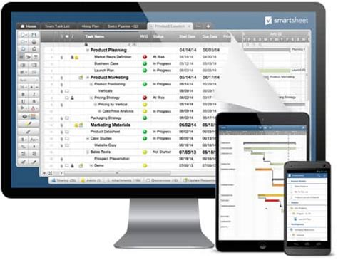 smartsheet work management  process automation solutions