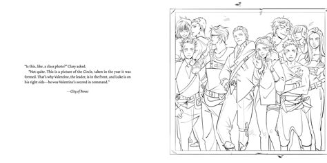 Page From The Tmi Colouring Book ... The Circle, The