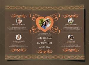 17 tri fold wedding invitation templates free premium With tri fold wedding invitations template free