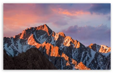 Apple Macos Sierra 4k Hd Desktop Wallpaper For 4k Ultra Hd