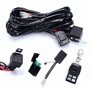 Wiring Harness Eyourlife 10ft 75w Led Light Bar Wiring
