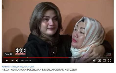 Hilda Mewek Depresi Dipecat Dan Dilecehkan Nikita