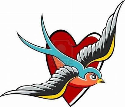 Tattoo Swallow Zwaluw Tattoos Hirondelle Bird Clipart