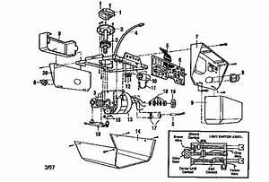 Craftsman 1  2 Hp Garage Door Opener Parts