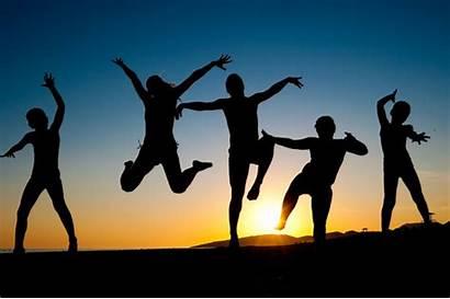 Movement Healthy Happy Jumping Beach Creative Season