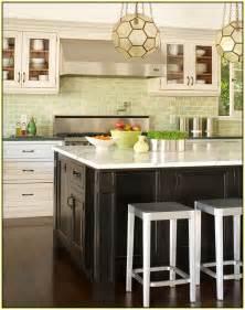green subway tile kitchen backsplash green glass tile kitchen backsplash home design ideas