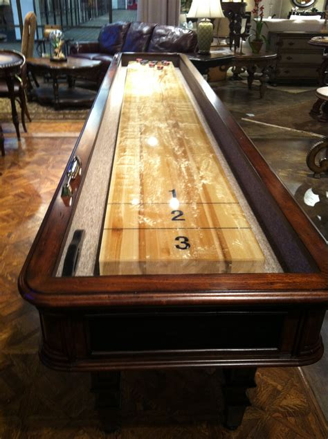 diy shuffleboard table plans  wooden  small