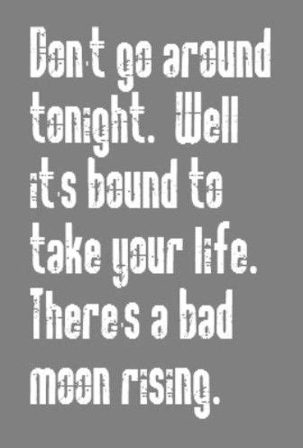 CCR - Bad Moon Rising - song lyrics, songs, music lyrics