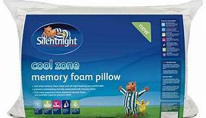 memory foam pillow With cool zone pillow