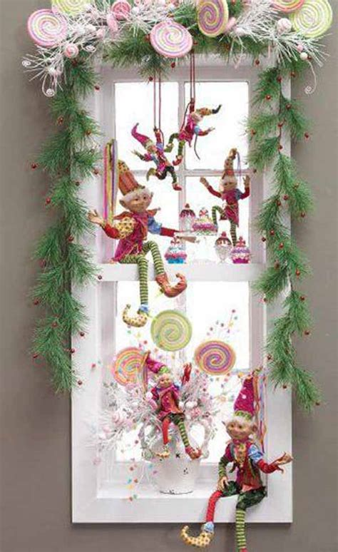 diy christmas window decorating ideas top window decorations celebration all about