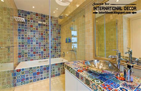 latest beautiful bathroom tile designs ideas