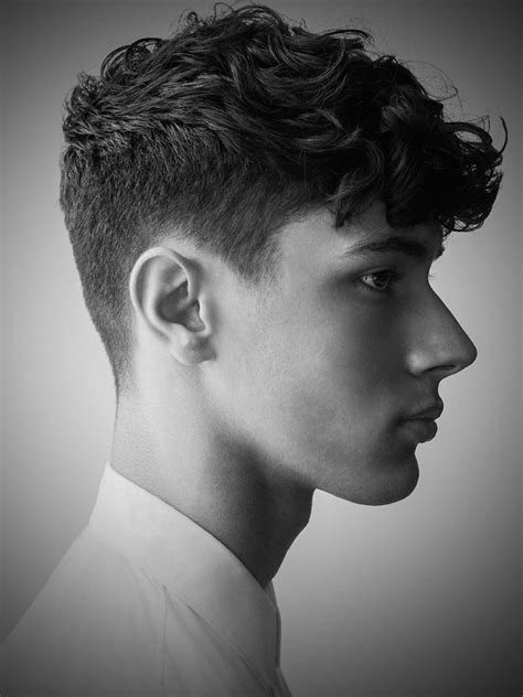 cool wavy hairstyles  men feed inspiration