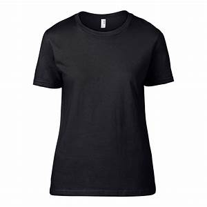 Ladies Plain Black T Shirt | Artee Shirt