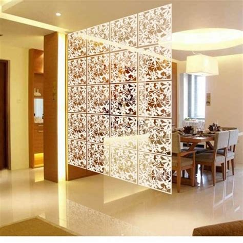Decorative Partitions - folding screen room divider plastic partitions shield for