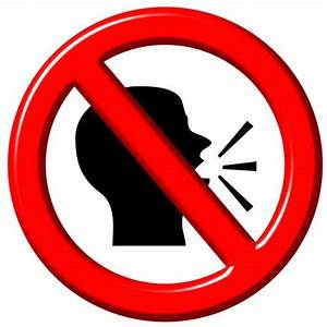 No Speaking Clipart | ClipArtHut - Free Clipart