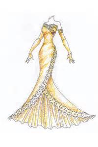 simple wedding dresses 婚纱设计图图库