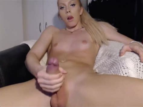 Blonde Beautiful Shemale With A Big Hard Cockmp4 Free