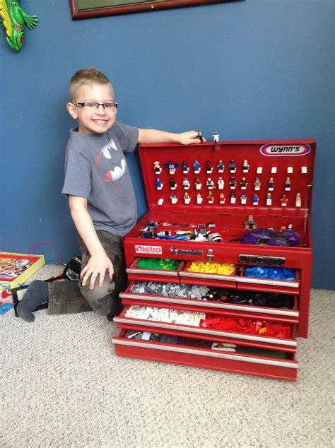 Aufbewahrung Kinderzimmer Junge by Lego Storage Repurposed Toolbox Praktisch